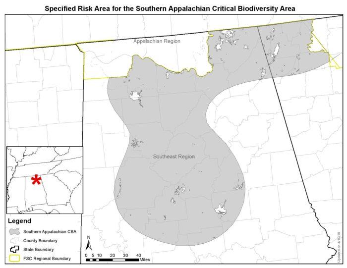 Southern Appalachian - FSC Specified Risk Area Maps-page-001